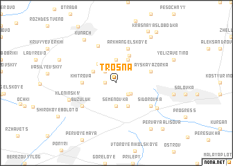 map of Trosna