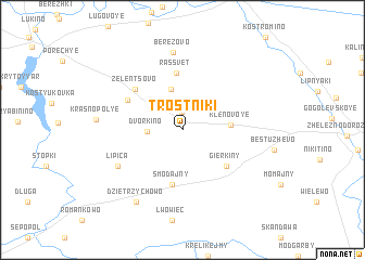 map of Trostniki