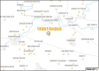 map of Trostnikovo