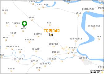 map of Trpinja