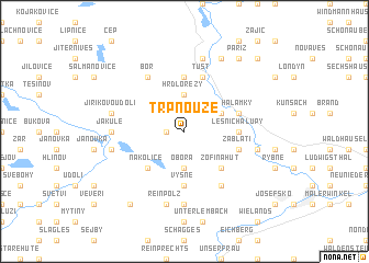 map of Trpnouze