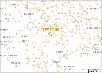 map of Trstova