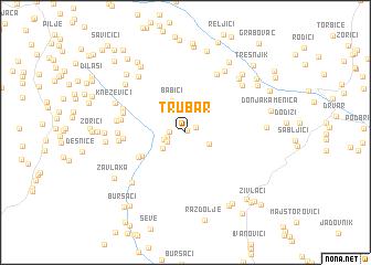 map of Trubar