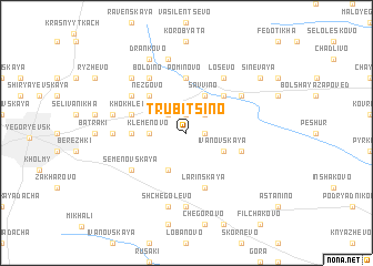 map of Trubitsino