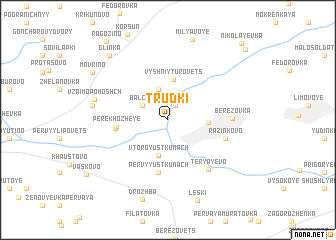 map of Trudki