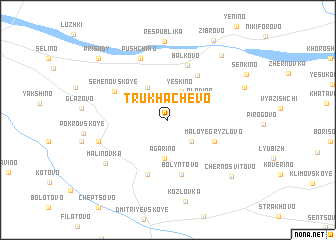 map of Trukhachëvo