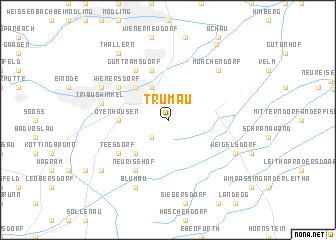 map of Trumau