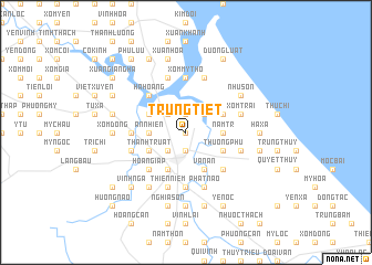 map of Trung Tiết