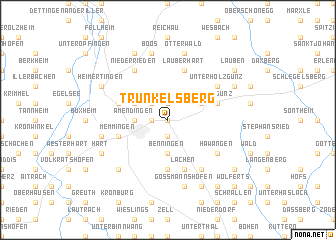 map of Trunkelsberg