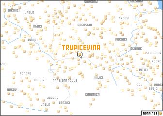 map of Trupičevina