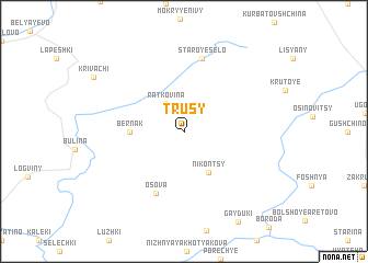 map of Trusy