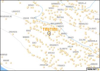 map of Trutini