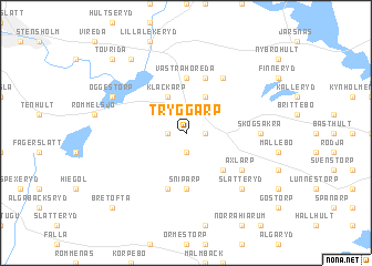 map of Tryggarp
