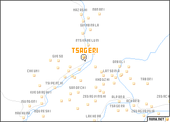 map of Ts'ageri