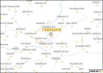 map of Tsarëvka