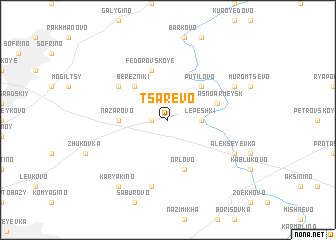 map of Tsarëvo