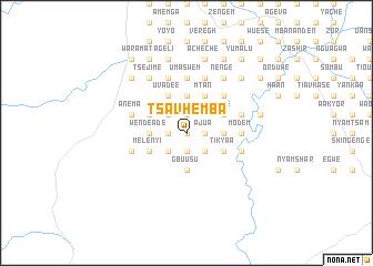 map of Tsavhemba