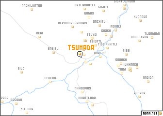 map of Tsumada