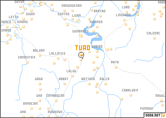 map of Tuao