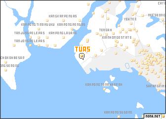 Map of Tuas - Michelin Tuas map - ViaMichelin