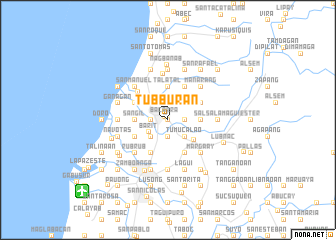 map of Tubburan