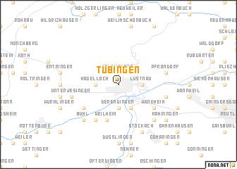 map of tbingen
