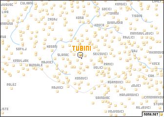 map of Tubini