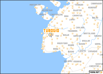 map of Tubodio