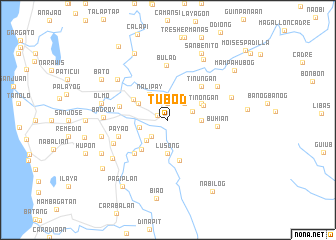 map of Tubod