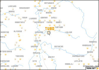 map of Tubo