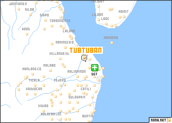 map of Tubtuban