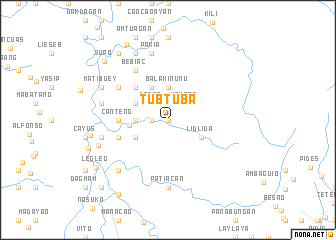 map of Tubtuba