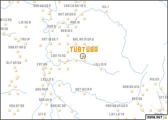 map of Tubtuba
