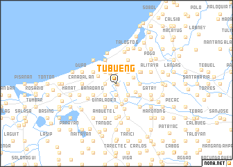 map of Tubueng