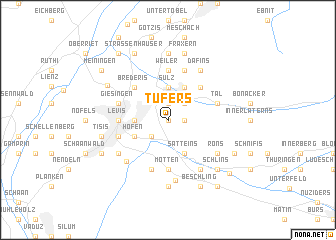 map of Tufers