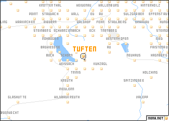 map of Tuften