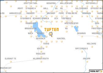 map of Tuften