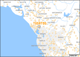 map of Tugatog