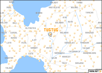 map of Tugtug