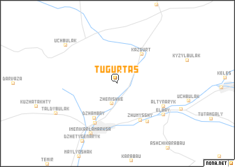 map of (( Tugurtas ))