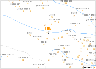 map of Tuğ