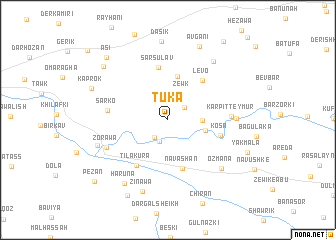 map of Tuka