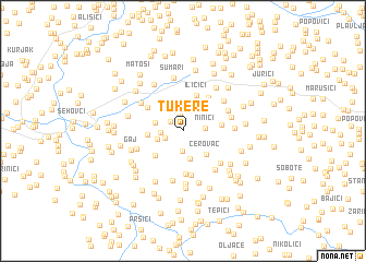 map of Tukere