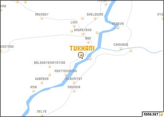 map of Tukhani