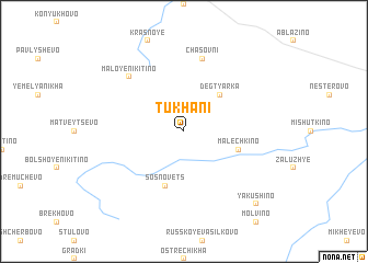 map of Tukhani