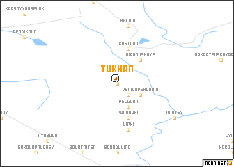 map of Tukhan\