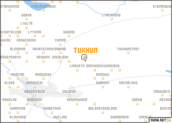 map of Tukhun