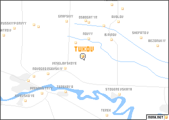 map of Tukov