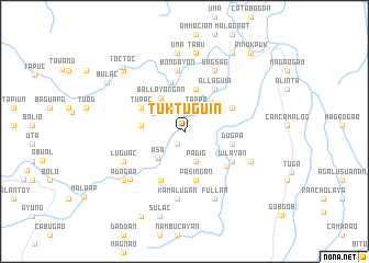map of Tuktuguin