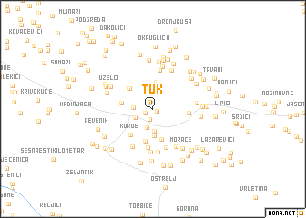 map of Tuk